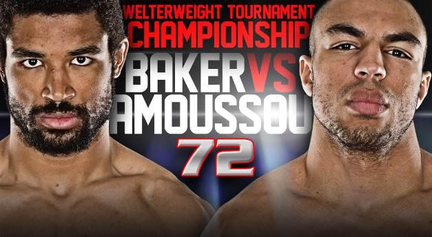 Baker vs. Amoussou will headline Bellator 72 in July