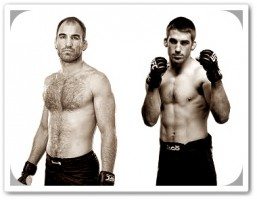 Brian Ebersole (left) will face TJ Waldburger at UFC on FX 4