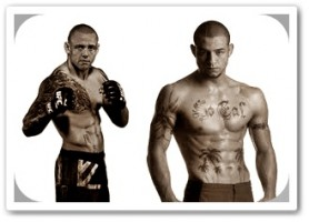 Ross Pearson(left) will face Cub Swanson at UFC on FX 4