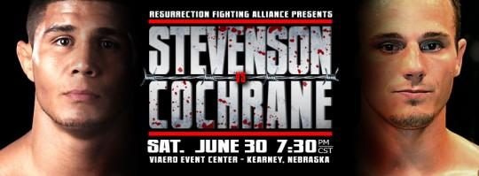 RFA 3 fight video: Dakota Cochrane vs. Joe Stevenson