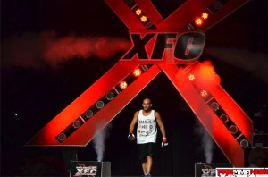 donny wallace-xfc18 walkout