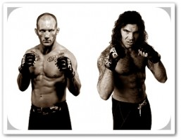 Gray Maynard (left) will face Clay Guida at UFC on FX 4