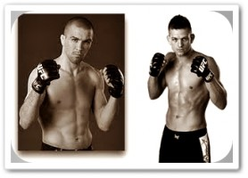 Josh Neer (left) will face Mike Pyle at UFC on FX 3
