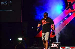 scott barrett xfc18 walkout
