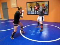sparring Tyson