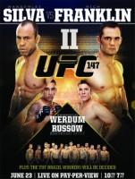 ufc 147 poster