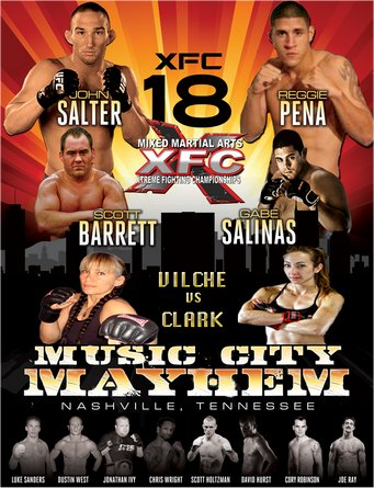 XFC 18: Music City Mayhem LIVE results and play-by-play