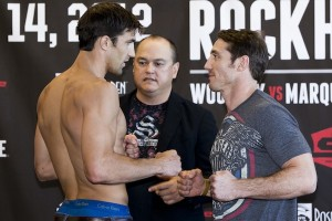 Luke Rockhold and Tim Kennedy