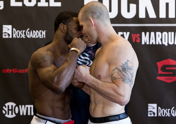 'Strikeforce: Rockhold vs. Kennedy' weigh-ins video and photos