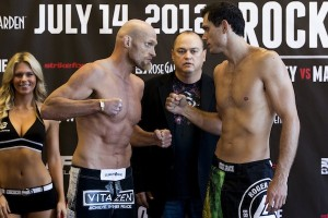 Keith Jardine and Roger Gracie