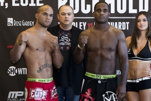 Robbie Lawler and Lorenz Larkin