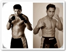 Patrick Cote (left) will face Cung Le at UFC 148