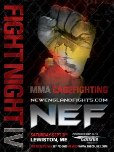 Sanders vs. Funch set for NEF Maine State welterweight title