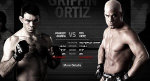Forrest Griffin (left) will face Tito Ortiz for third time at UFC 148