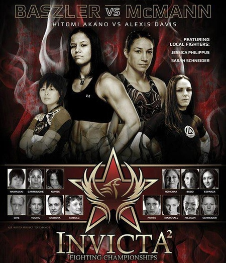 Invicta FC 2 LIVE results and play-by-play
