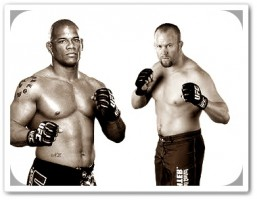 Hector Lombard (left) will face Tim Boetsch at UFC 149