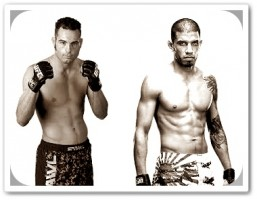 Mike Swick (left) will face DaMarques Johnson at UFC on FOX 4