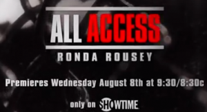 all access-ronda rousey
