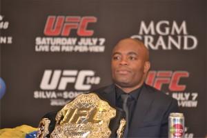UFC Middleweight Champion Anderson Silva