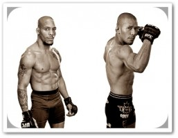 Mike Easton (left) faces Ivan Menjivar at UFC 148
