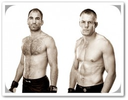 Brian Ebersole (left) will face James Head at UFC 149
