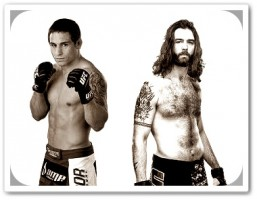 Chad Mendes(left) will face Cody McKenzie at UFC 148