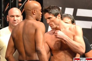 They are calling it the most anticipated rematch in UFC history; Anderson Silva (left) vs. Chael Sonnen.                                                               Photo by Kristyn Adamakis for ProMMAnow.com