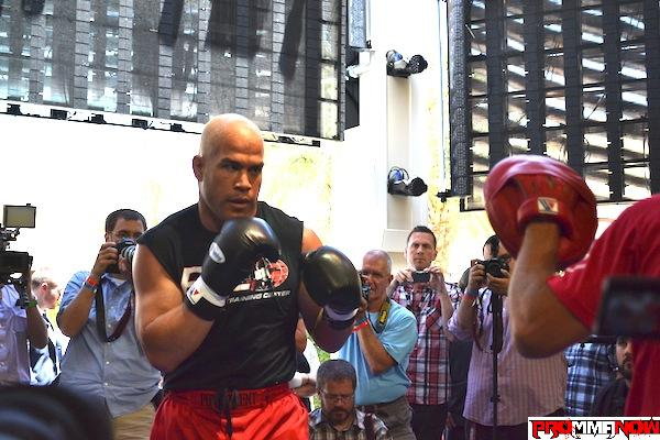 Tito Ortiz on TRT: 'I think we're sending the wrong message to fans'
