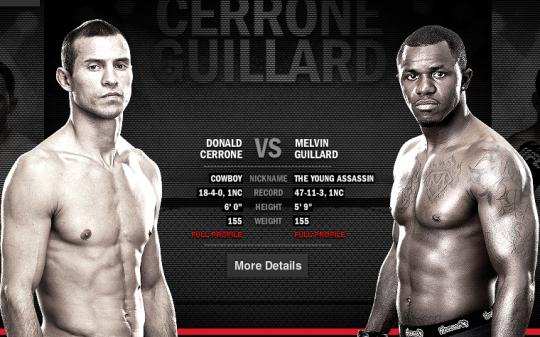 UFC 150 preview: Melvin Guillard and Donald Cerrone are both going for the knockout