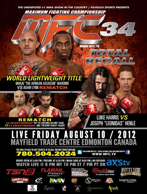 MFC 34: Total Recall results