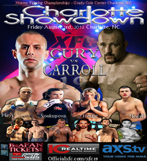 XFC 19 LIVE play by play and results
