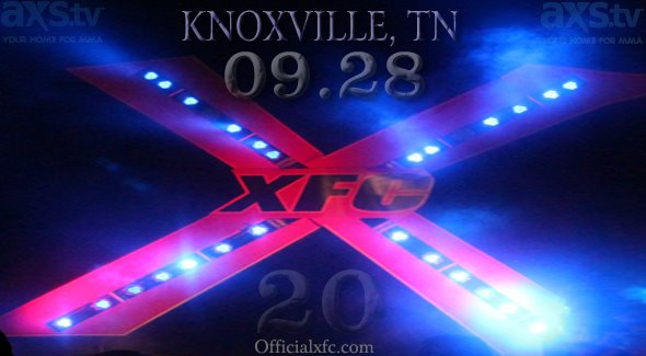 XFC announces several fights for 'High Octane' in Knoxville