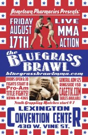 Bluegrass Brawl 3 to showcase area's top talent tonight in Lexington, Ky.