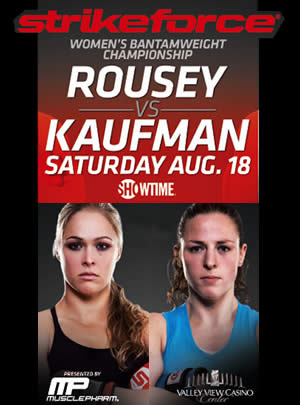 Live stream: 'Strikeforce: Rousey vs. Kaufman' post-fight press conference