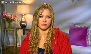 Ronda Rousey on ESPN SportsCenter ahead of UFC 157 *VIDEO*