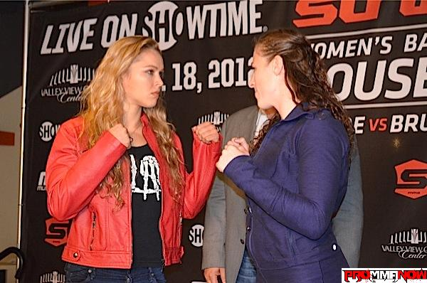 Lethal intent: 'Rousey vs. Kaufman' press conference quotes, photos and video