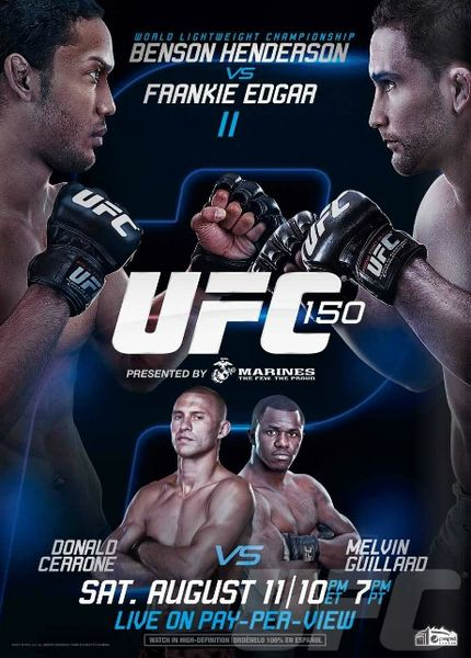 UFC 150 LIVE results and play-by-play