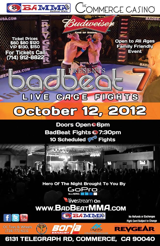 BAMMA USA – Badbeat 7: Virgil Zwicker vs. Mike Cook headlines event in October