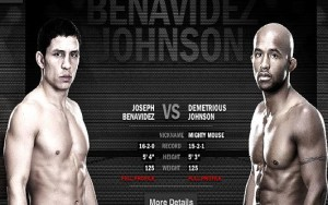 Joseph Benavidez will face Demetrious Johnson at UFC 152