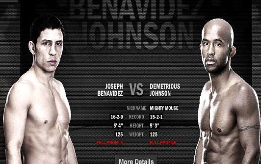 UFC 152 preview: Benavidez and Johnson eye inaugural UFC flyweight championship