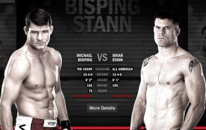 Michael Bisping(left) will face Brian Stann at UFC 152