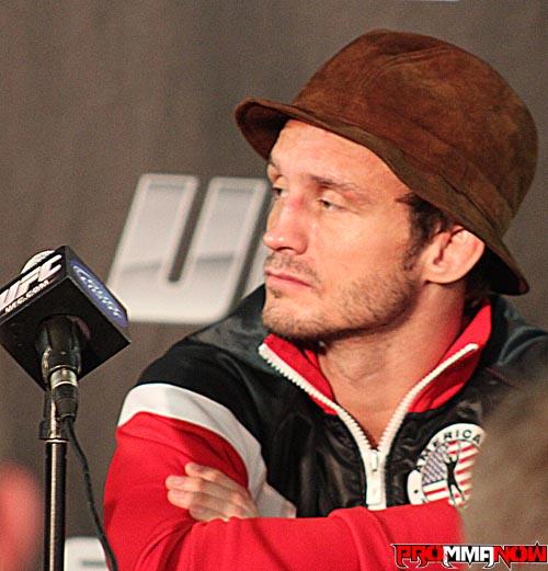 Fight Night London: Brad Pickett UFC backstage interview