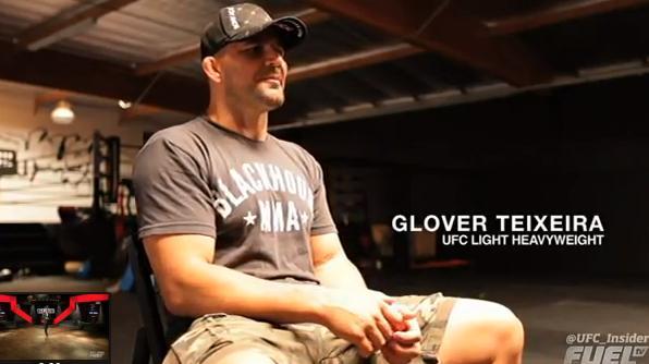 Who is UFC light heavyweight Glover Teixeira?