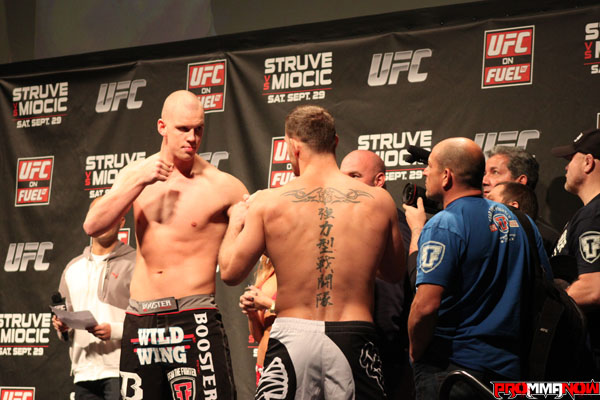 UFC on FUEL TV 5 weigh-in results