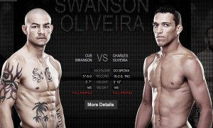 Cub Swanson will face Charles Oliveira at UFC 152
