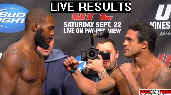 UFC 152 LIVE results and play-by-play