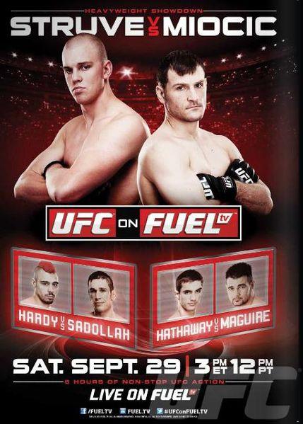 UFC on FUEL TV 5: Main card fight analysis