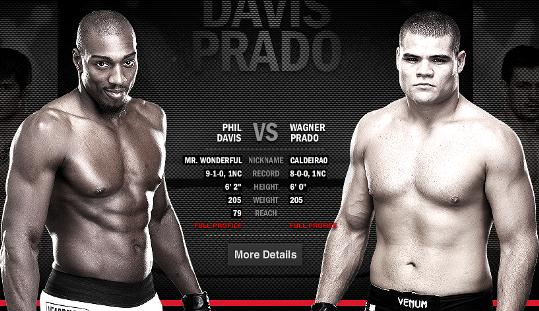 UFC 153 preview: Phil Davis and Wagner Prado rematch after no contest in first meeting