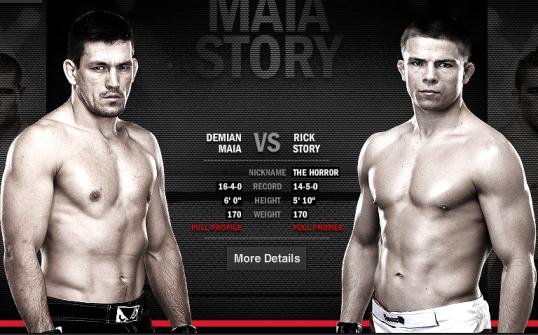 UFC 153 preview: Demian Maia looks for second welterweight win against Rick Story