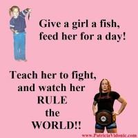 Teach her to fight